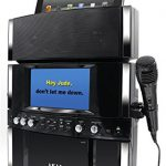 karaoke machine with screen