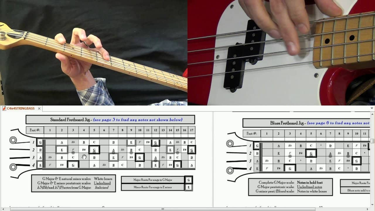 Bass Guitar Scales – The Differences Of The Long Scale And Short Scale Bass Guitar