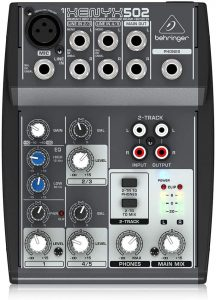sound mixer for karaoke