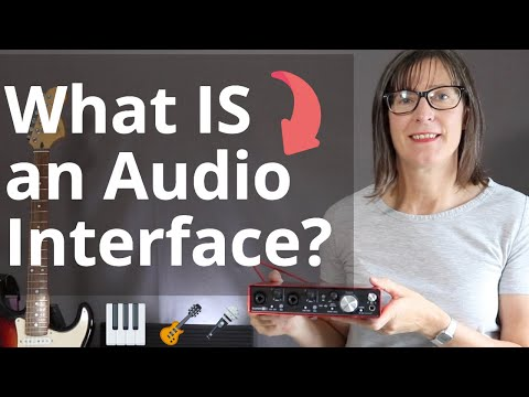 what is an audio interface